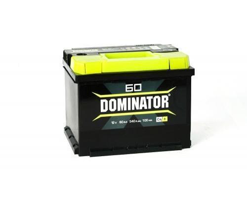 Автомобильный аккумулятор  Dominator 60 Ач