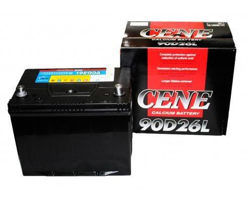 Автомобильный аккумулятор  Cene 80 Ач