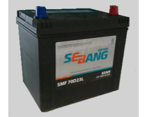 Автомобильный аккумулятор  Sebang 65 Ач
