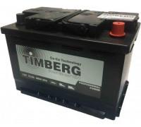 Автомобильный аккумулятор  Timberg 75 Ач 278x175x190