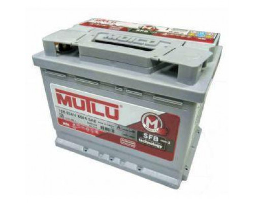Автомобильный аккумулятор  Mutlu 60 Ач