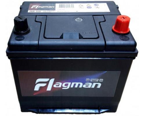 Автомобильный аккумулятор  Flagman 60 Ач