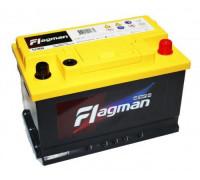 Автомобильный аккумулятор  Flagman 74 Ач 278x175x175