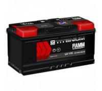 Автомобильный аккумулятор  Fiamm 110 Ач 393x175x190