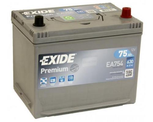 Автомобильный аккумулятор  Exide 75 Ач
