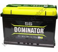 Автомобильный аккумулятор  Dominator 66 Ач 278x175x190