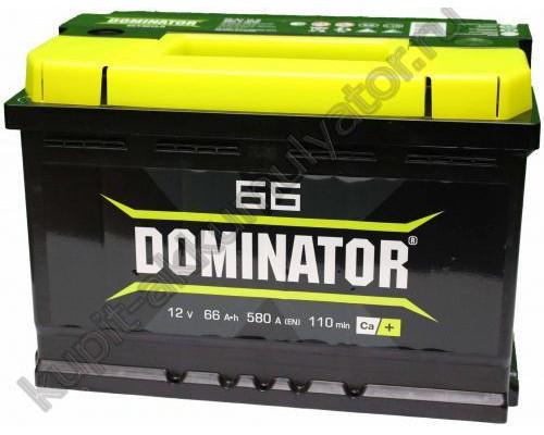 Автомобильный аккумулятор  Dominator 66 Ач