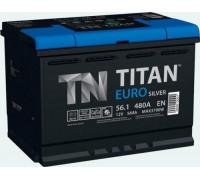 Автомобильный аккумулятор  Titan 56 Ач 242x175x190