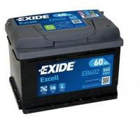 Автомобильный аккумулятор  Exide 60 Ач 242x175x175