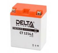 Аккумулятор Delta CT 1214.1 (YB14-BS, YTX14AH, YTX14AH-BS)