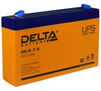 Аккумулятор Delta HR 6-7.2 (6 вольт 7.2 а.ч)