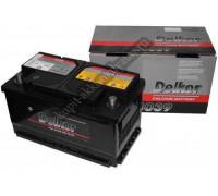 Автомобильный аккумулятор  Delkor 80 Ач 315x175x175