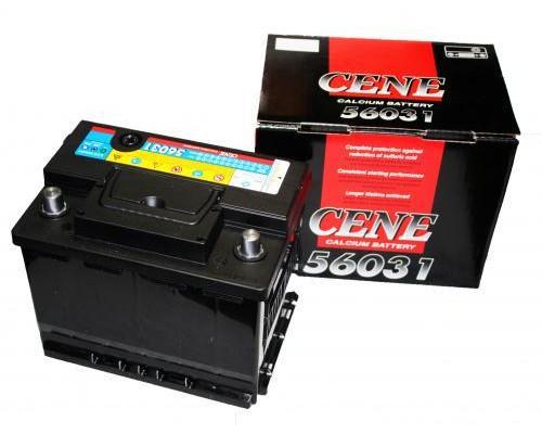 Автомобильный аккумулятор  Cene 60 Ач