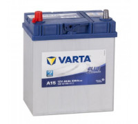 Автомобильный аккумулятор  Varta 40 Ач 187x127x227