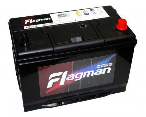 Автомобильный аккумулятор  Flagman 100 Ач