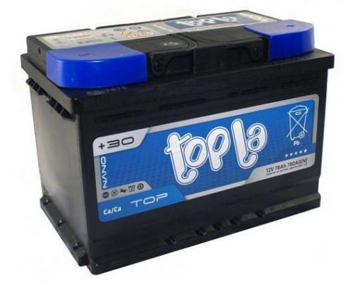 Автомобильный аккумулятор  Topla 78 Ач