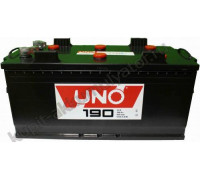 Грузовой аккумулятор Uno 190 Ач 515x240x242