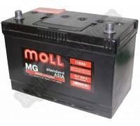 Автомобильный аккумулятор  Moll 110 Ач 292x170x215