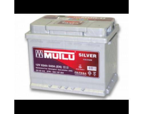 Автомобильный аккумулятор  Mutlu 62 Ач