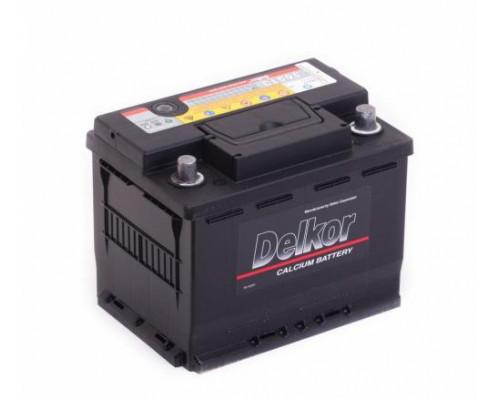 Автомобильный аккумулятор  Delkor 65 Ач