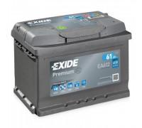 Автомобильный аккумулятор  Exide 61 Ач 242x175x175