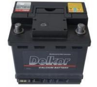 Автомобильный аккумулятор  Delkor 55 Ач 205x206x172 ток 550 А