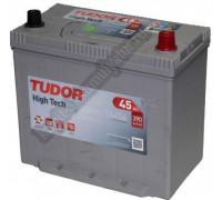 Автомобильный аккумулятор  Tudor 45 Ач 232x129x220