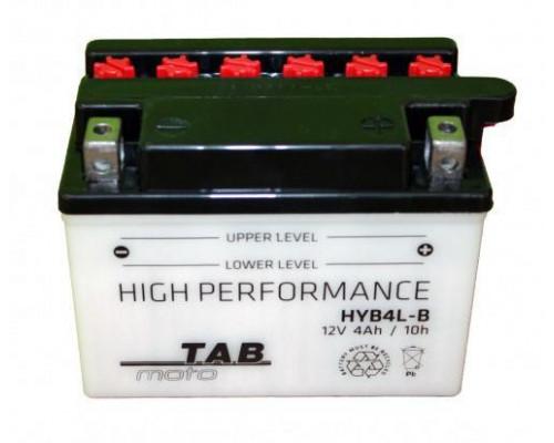 Мото аккумулятор Tab 4 Ач