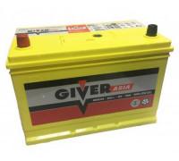 Автомобильный аккумулятор  Giver 90 Ач 306x173x222