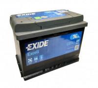 Автомобильный аккумулятор  Exide 74 Ач 278x175x190