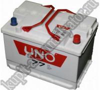 Автомобильный аккумулятор  Uno 75 Ач 278x175x190