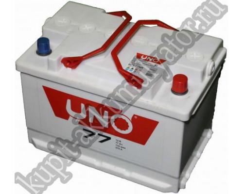 Автомобильный аккумулятор  Uno 75 Ач