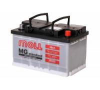 Автомобильный аккумулятор  Moll 66 Ач 276x175x175