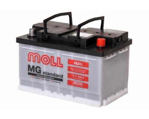 Автомобильный аккумулятор  Moll 66 Ач