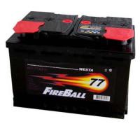 Автомобильный аккумулятор  Fire Ball 75 Ач 278x175x190