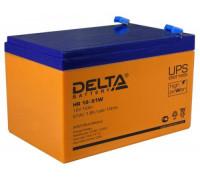 Аккумулятор Delta HR 12-51 W (12 вольт 12 ампер)