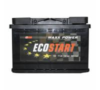 Автомобильный аккумулятор  Ecostart 77 Ач 278x175x190