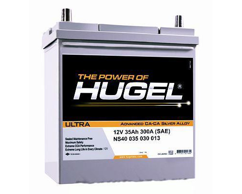 Автомобильный аккумулятор  Hugel 35 Ач