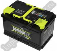 Автомобильный аккумулятор  Dominator 74 Ач 278x175x190