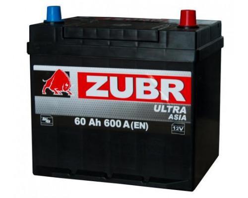 Автомобильный аккумулятор  Зубр 60 Ач