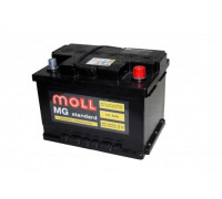 Автомобильный аккумулятор  Moll 62 Ач 242x175x175