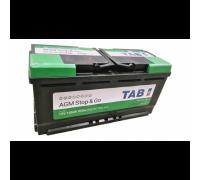 Автомобильный аккумулятор  Tab 105 Ач 393x175x190
