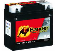 Мото аккумулятор Banner 14 Ач 150x87x161