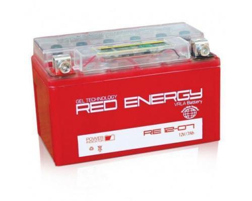 Мото аккумулятор Red Energy 7 Ач