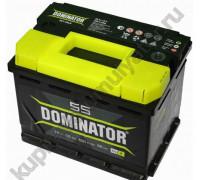 Автомобильный аккумулятор  Dominator 55 Ач 242x175x190