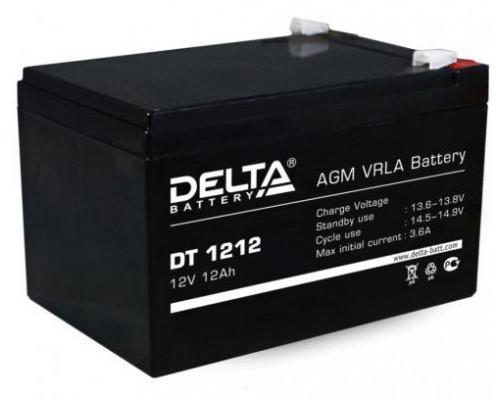 Аккумулятор Delta DT 1212 (12 вольт 12 ампер)