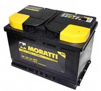 Автомобильный аккумулятор  Moratti 75 Ач 278x175x190