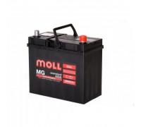 Автомобильный аккумулятор  Moll 55 Ач 229x120x220