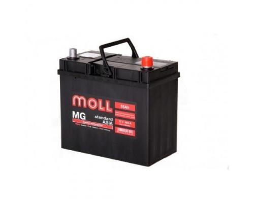 Автомобильный аккумулятор  Moll 55 Ач