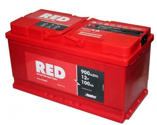 Автомобильный аккумулятор  Red 100 Ач